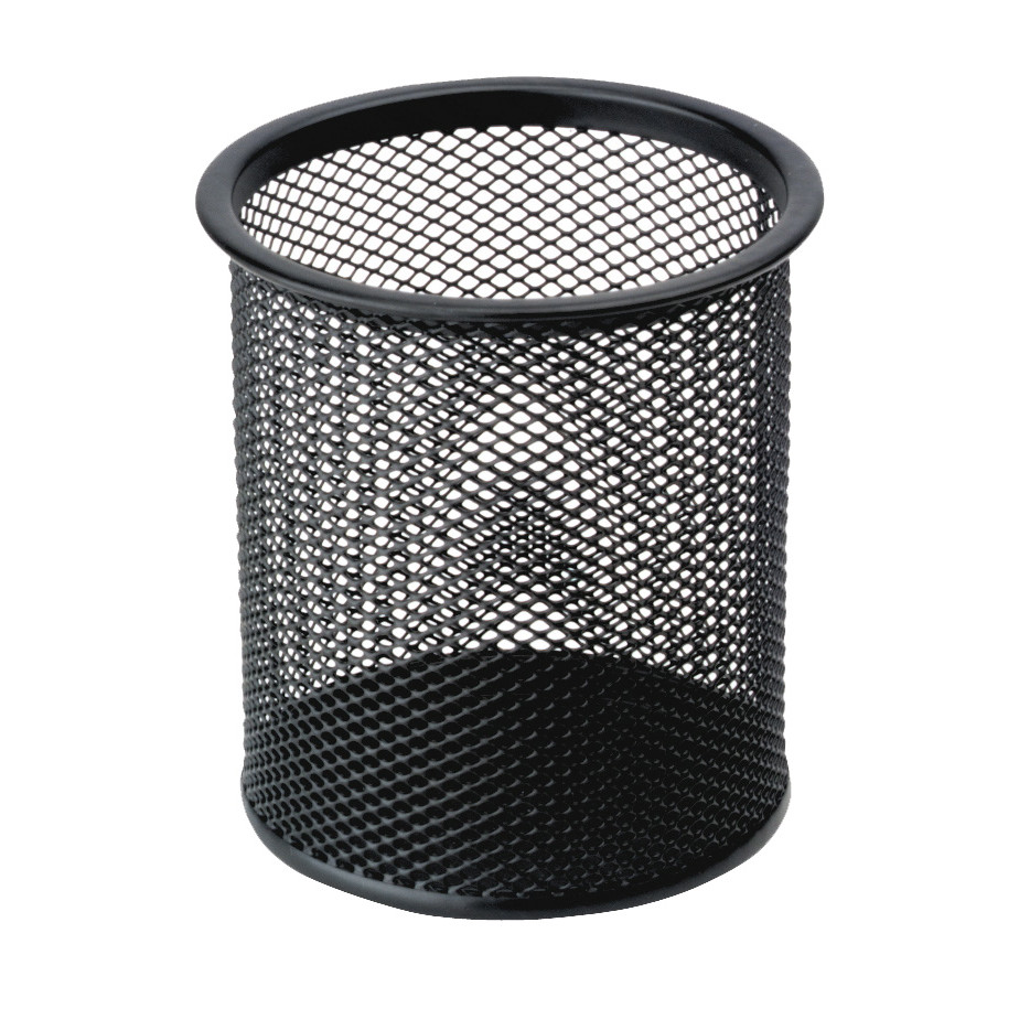 Penneholder tråd metal sort