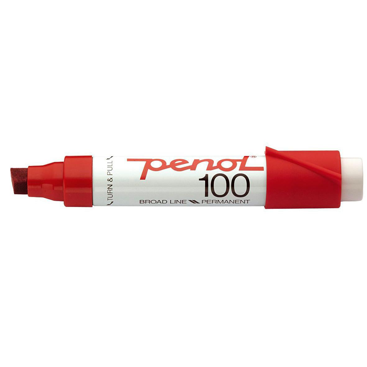 Penol 100 - Spritmarker rød 3-10 mm