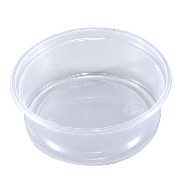 Plastbægre 10-150 rund PP klar 150 ml Ø 101 x 35 mm - 100 stk