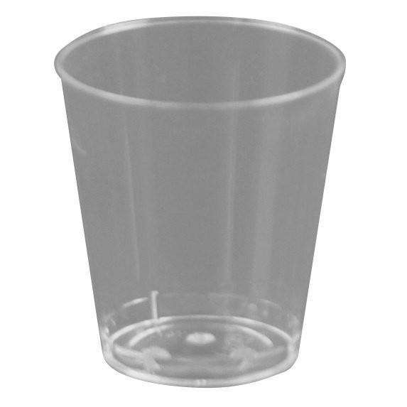 Engangsglas shotglas 3 cl - 50 stk.