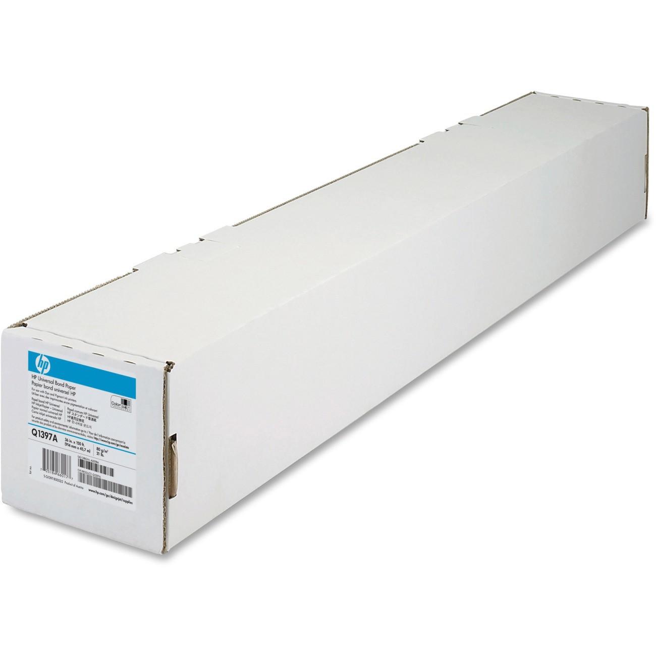 Plotterpapir 80g bond paper 36  914x45,7m HPQ1397A