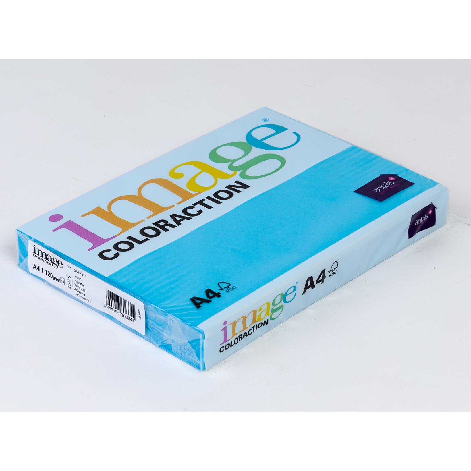 Printerpapir Image Coloraction A4 120 gram turkisblå 77 - 250 ark