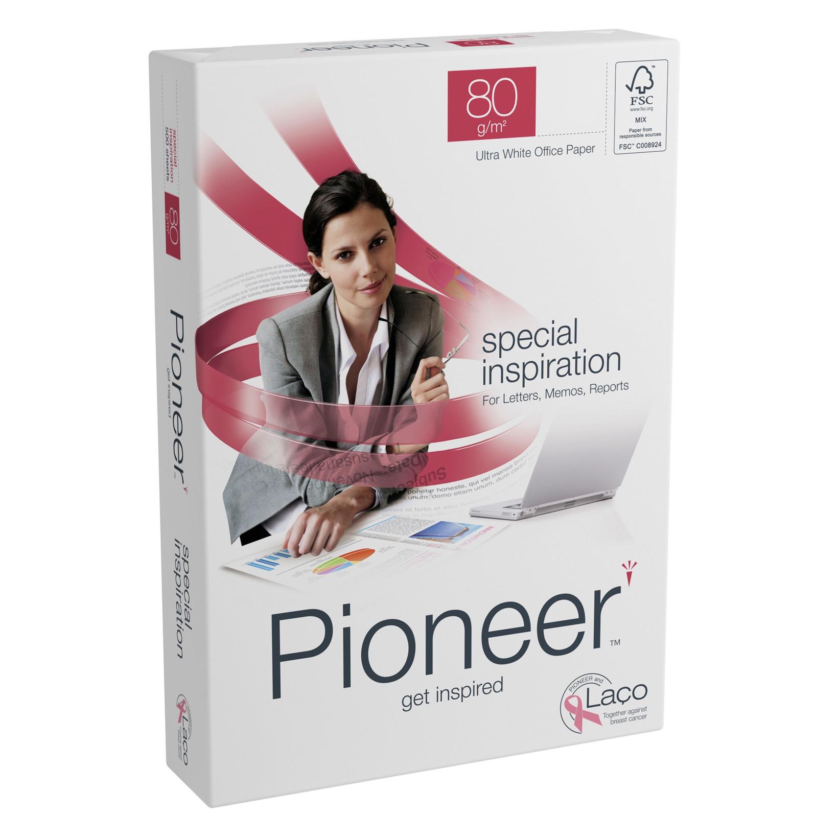 Printerpapir - Pioneer 80 gram A3 - 500 ark