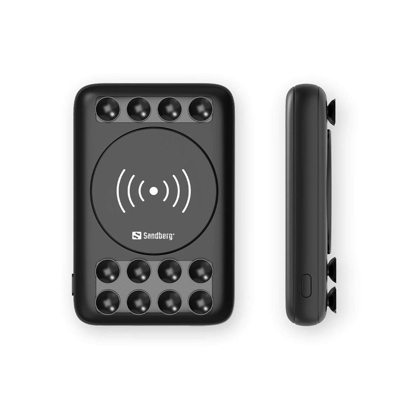 Sandberg Powerbank 10000 Wireless 10W, Black