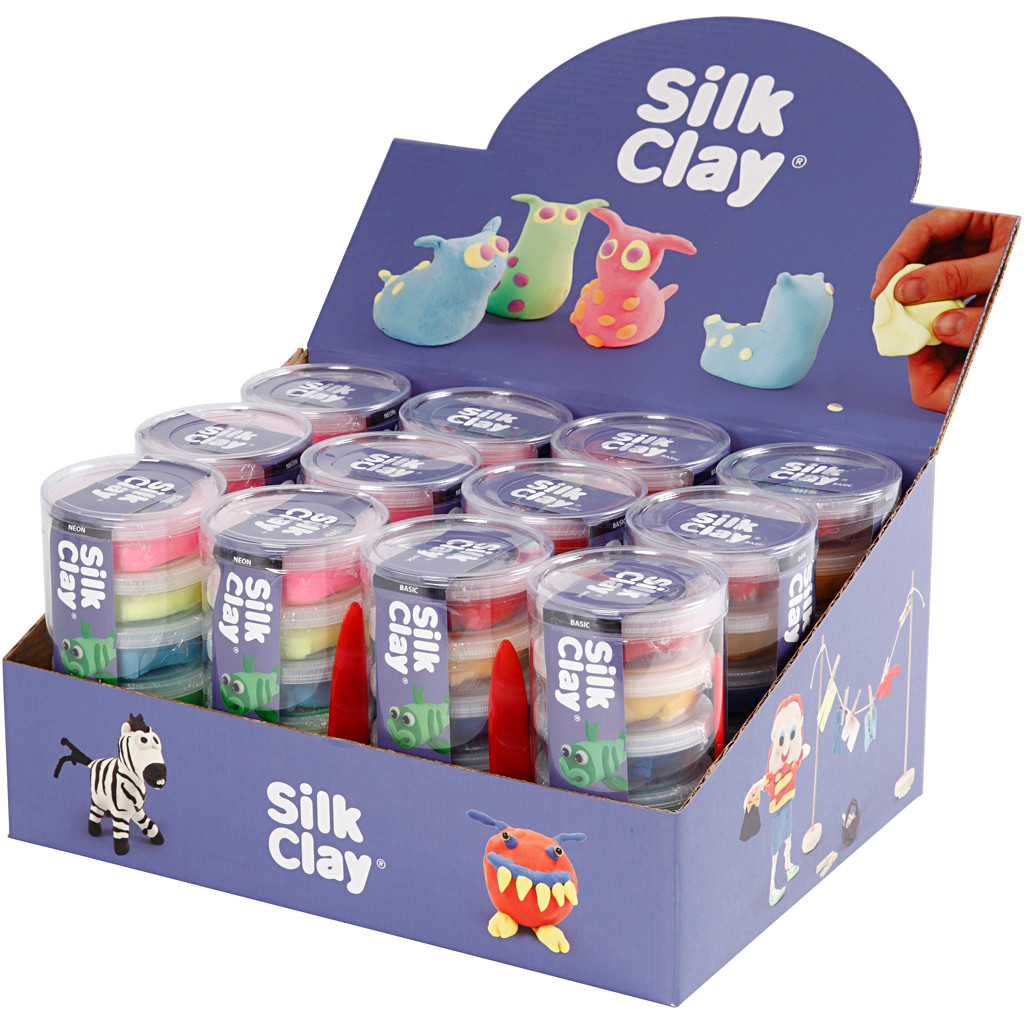Silk Clay® , 12sæt