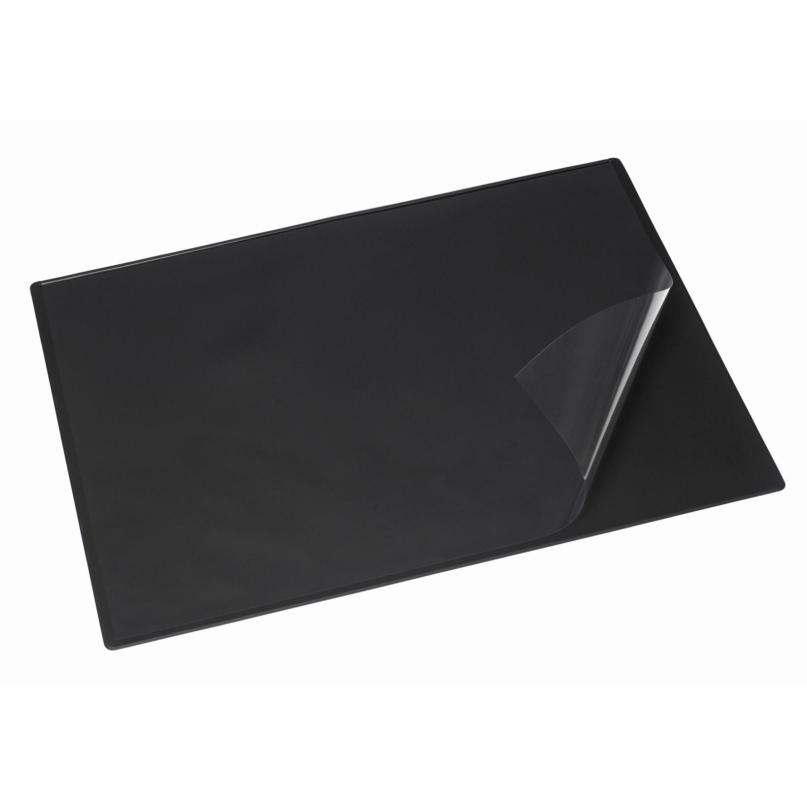 Bantex skriveunderlag sort - 49 x 65 cm