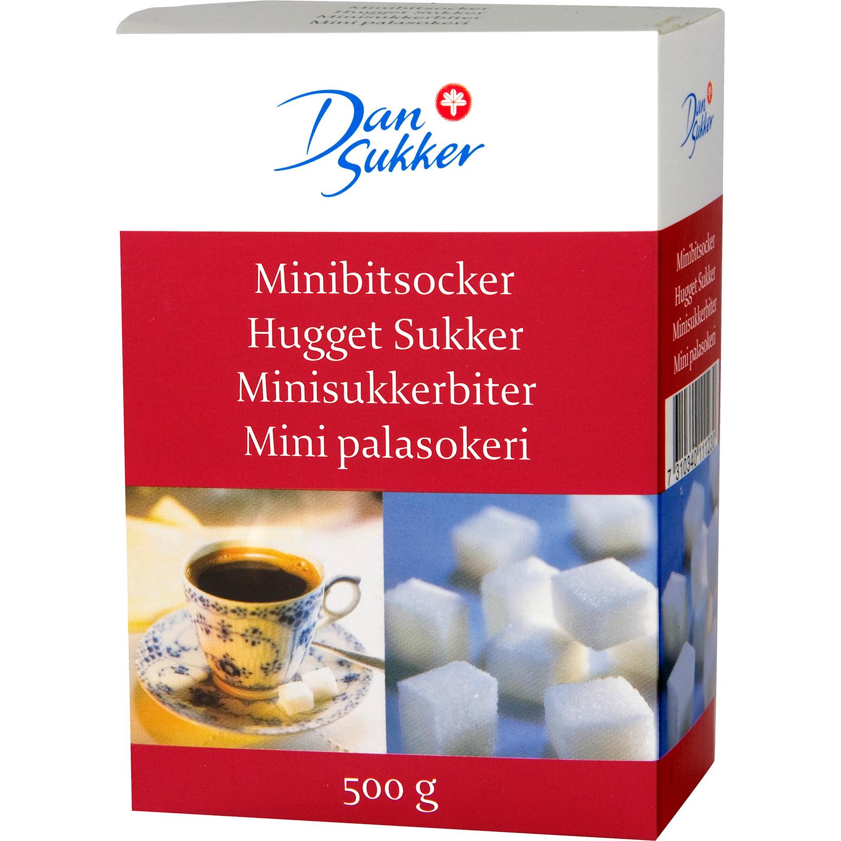 Sukkerknald løstpakket - 16 x 500 gram