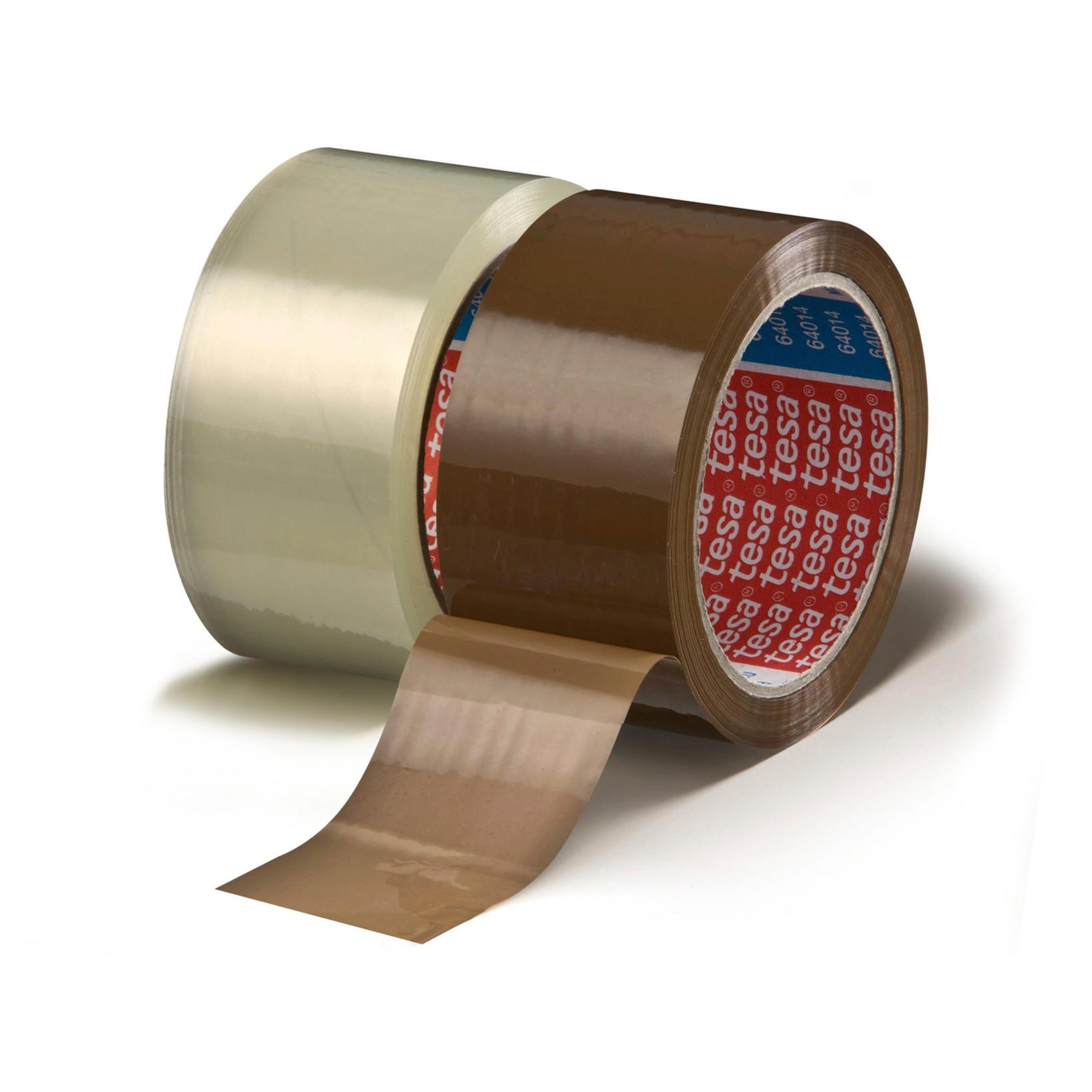 Pakketape Tesa PP klar 64014- 48 mm x 66 m