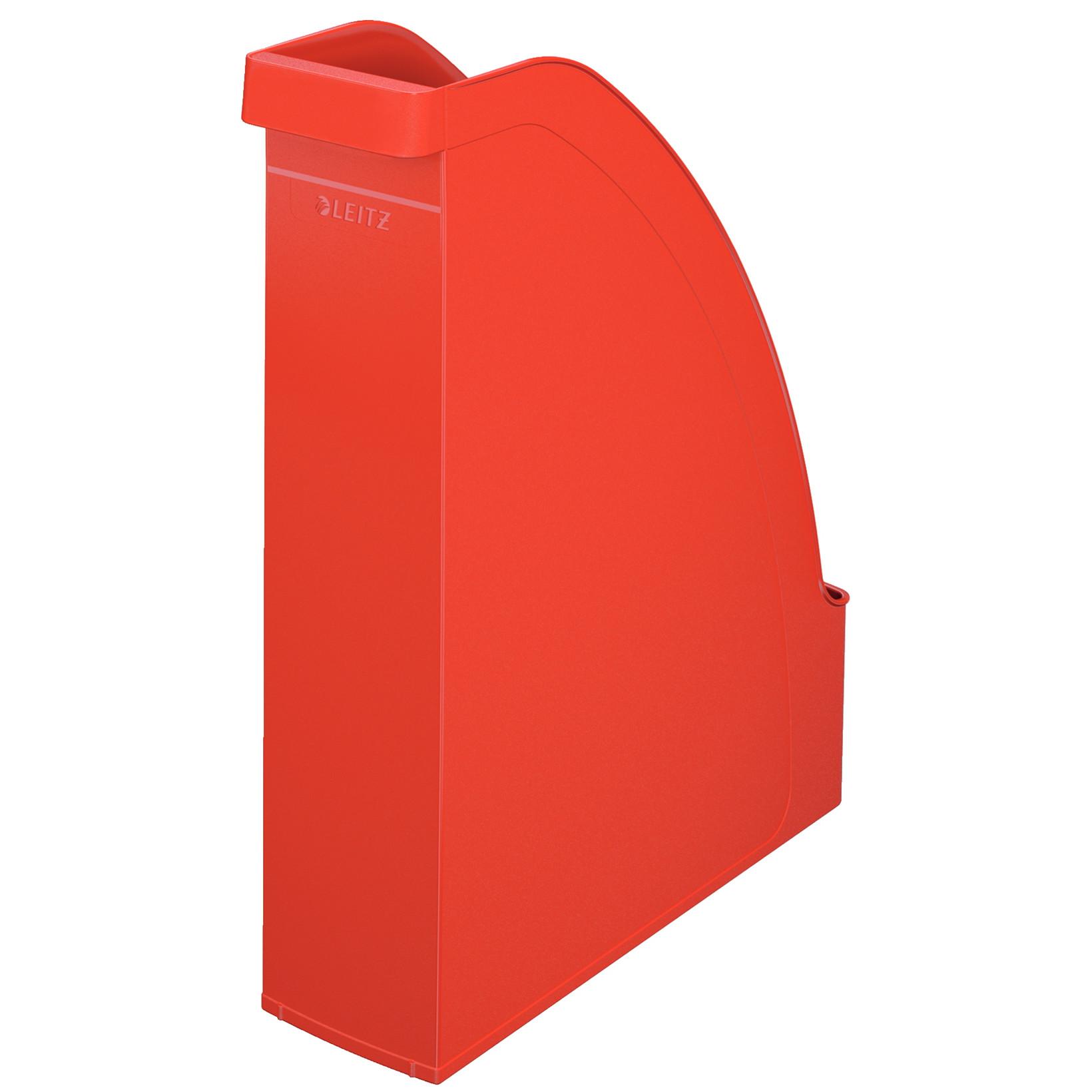 A4 Tidsskriftkassette Leitz Plus 70 mm ryg | Rød