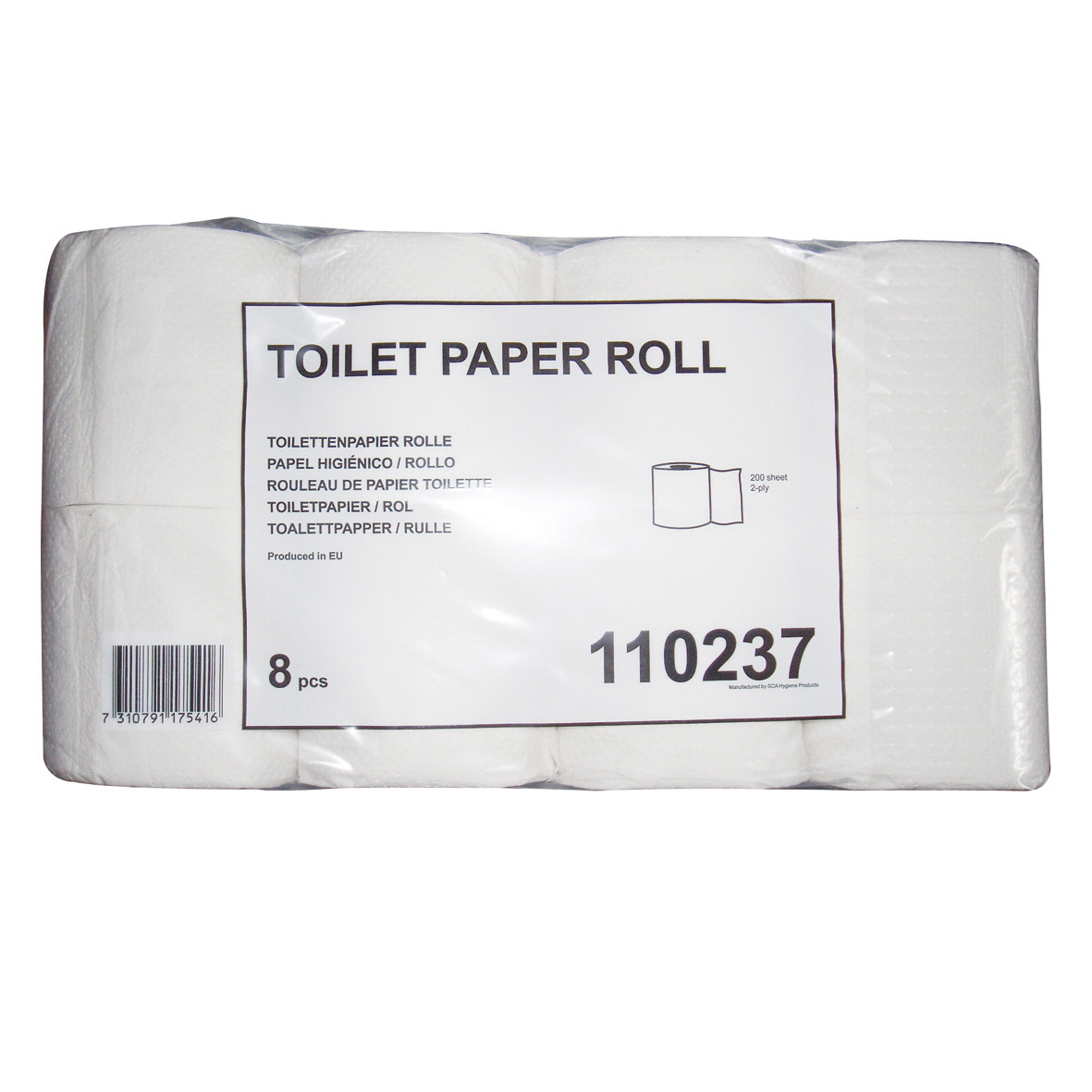 WC papir Tork 110237 Neutral T4 2-lags 28 meter - 64 wc ruller