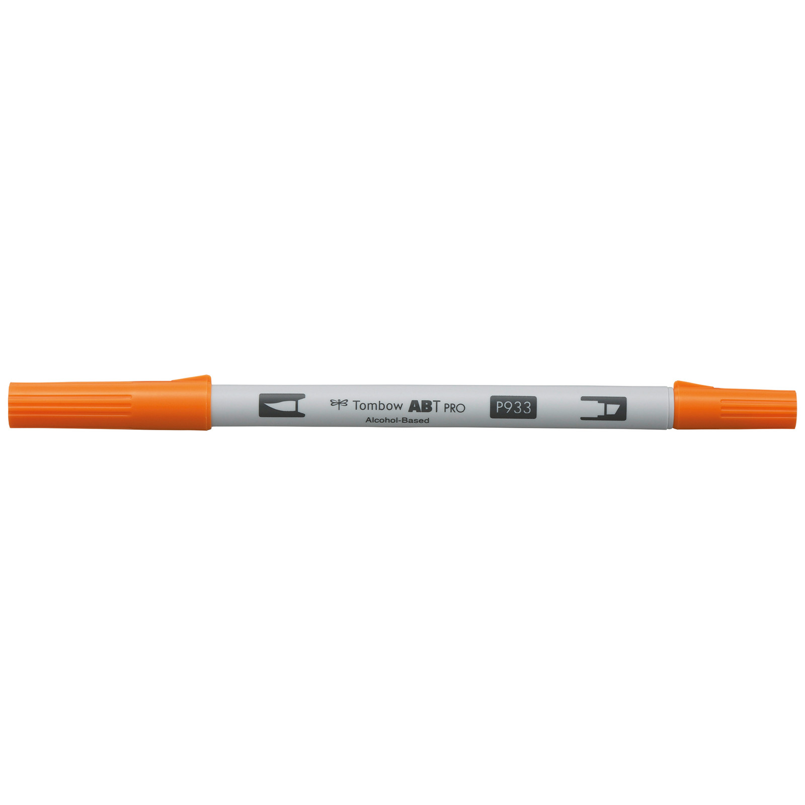 Tombow Marker alcohol-based ABT PRO Dual Brush 933 orange