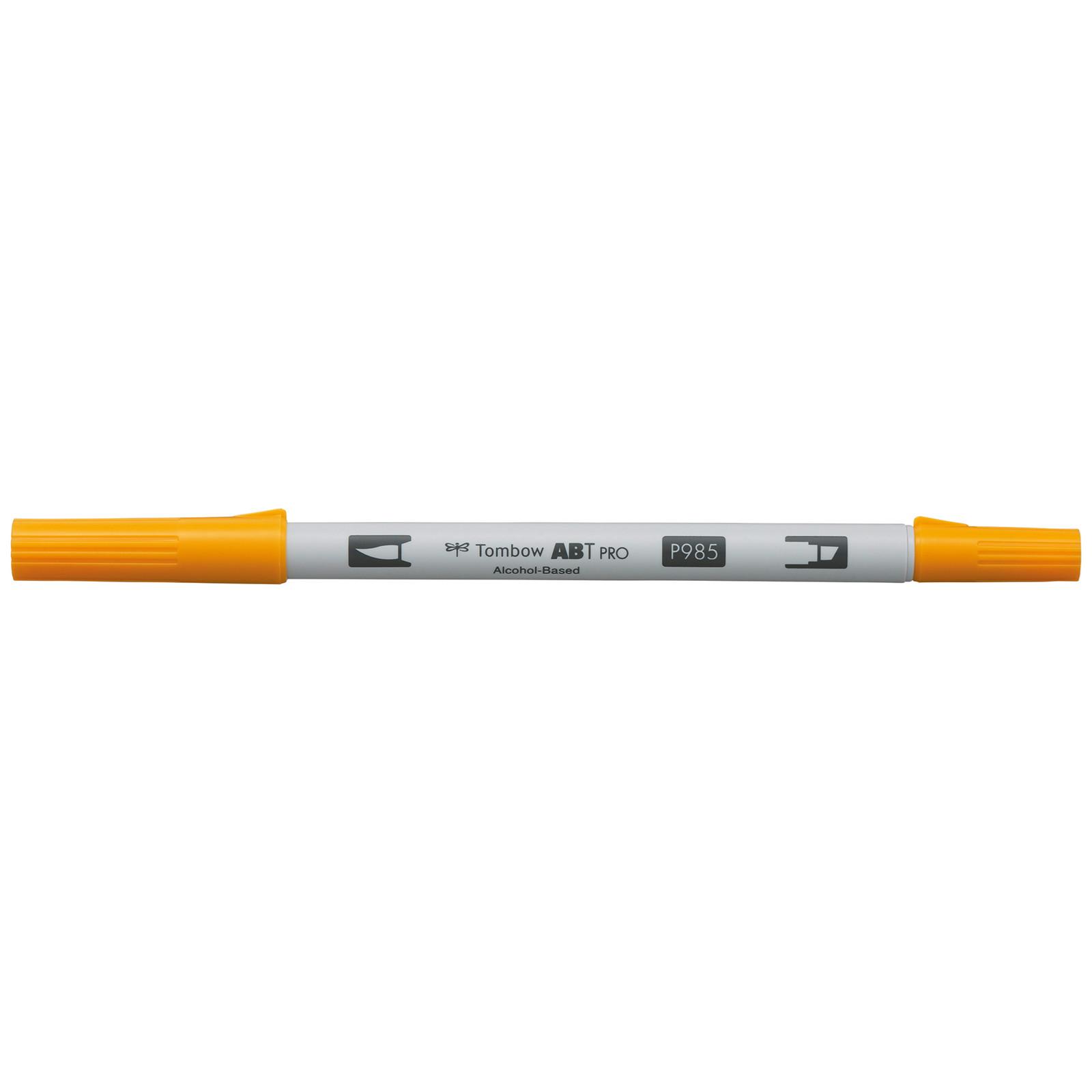 Tombow Marker alcohol-based ABT PRO Dual Brush 985 chrome yellow