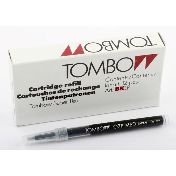 Tombow Refill Rollerball, ink colour black