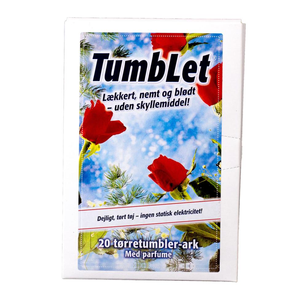 TumbLet Tørretumbler ark - Med parfume