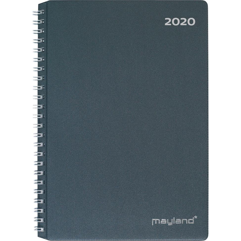 Ugekalender A5 PP mørk grå 15x21cm 1 uge/opslag 20 2000 00