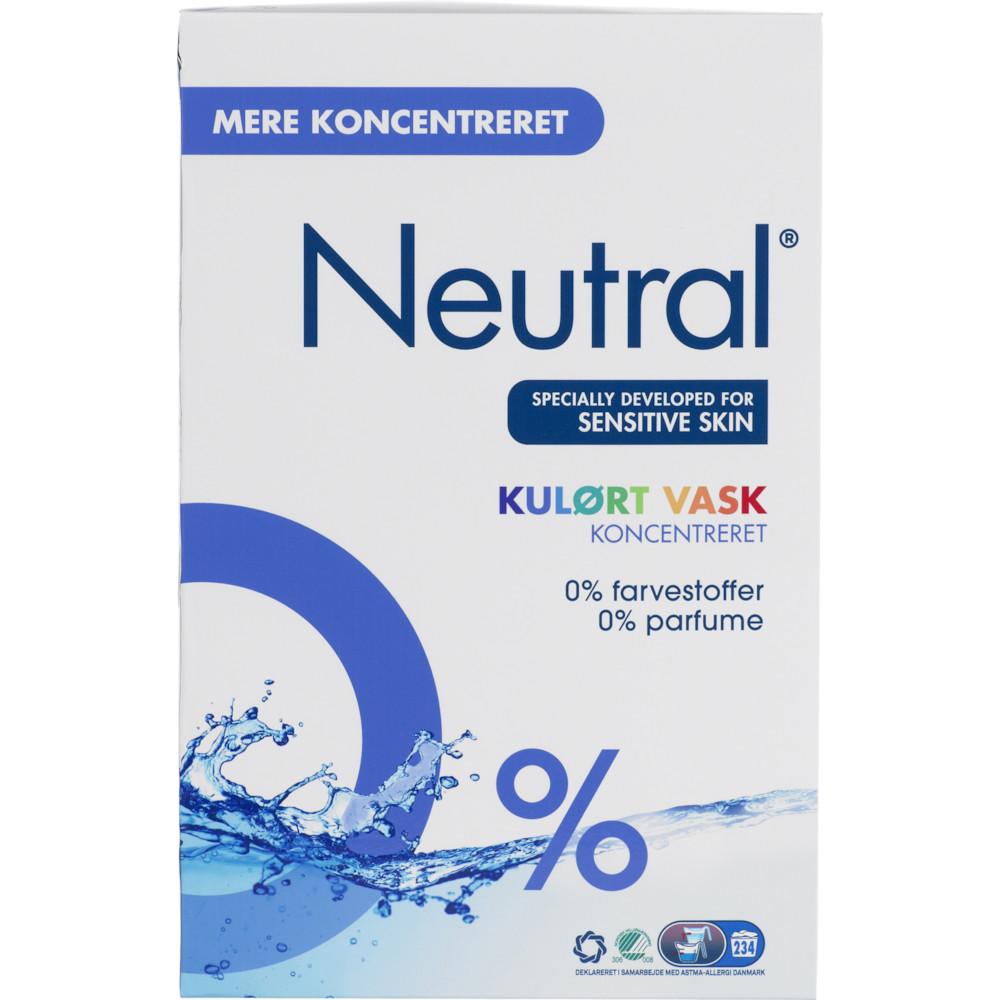 Vaskepulver Neutral Color til kulørt vask - 11,2 kg