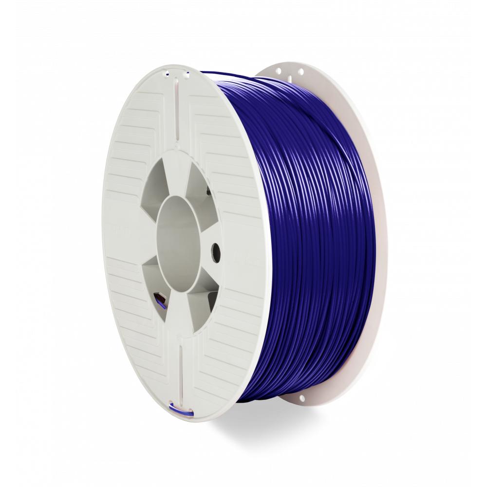 Verbatim 3D Printer Filament PET-G 1.75MM 1KG BLUE