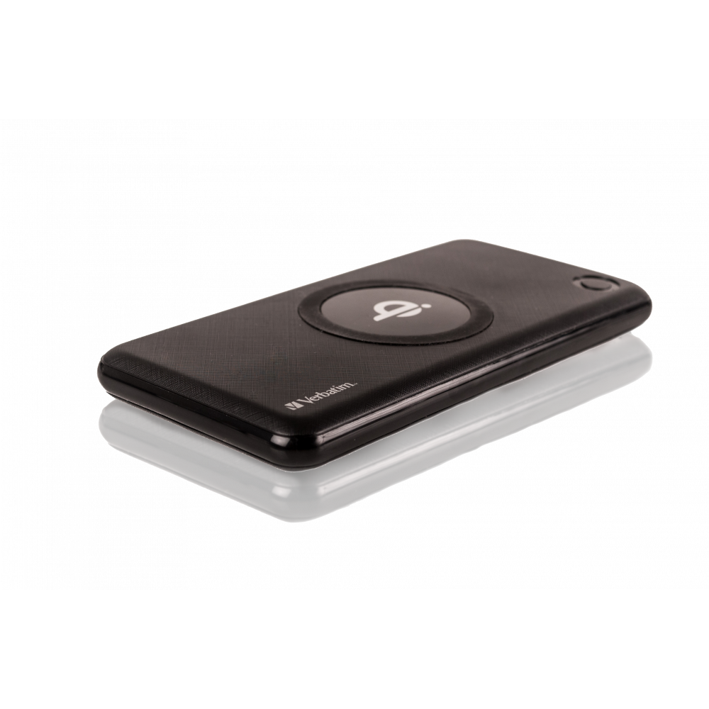 Verbatim Powerbank 10000Mah Black Incl. Wireless Charger
