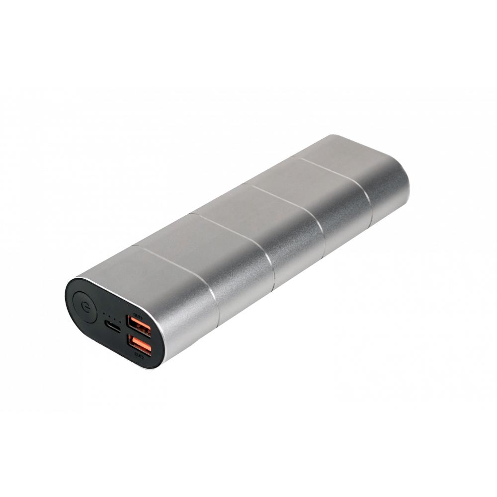 Verbatim Powerbank 20000Mah Grey/Silver Metal Qc3 & USB-C