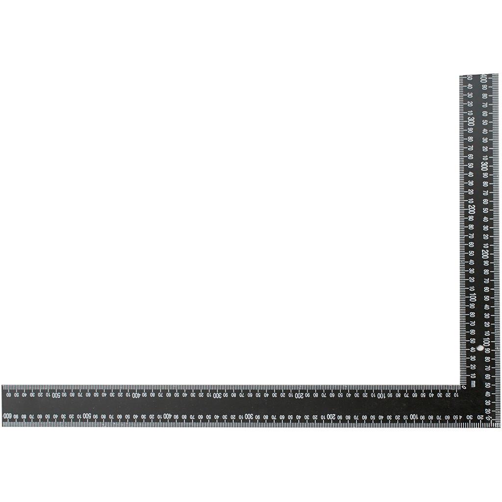 Vinkel lineal   størrelse 40 x 60 cm