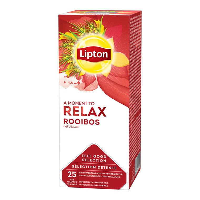 Te Lipton Rooibos Spice Tea - 25 breve i en æske