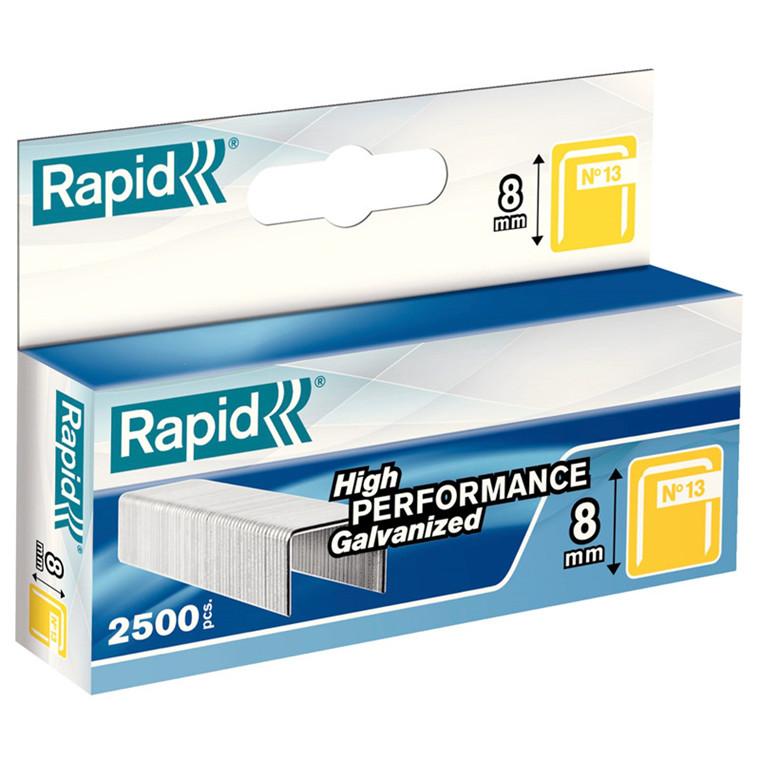 Hæfteklamme Rapid Tools 13/8 galvaniseret 2500stk/æsk
