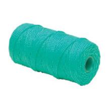 Mursnor grøn flettet krydsspole - PP 100 g 1,5 mm x 90 meter