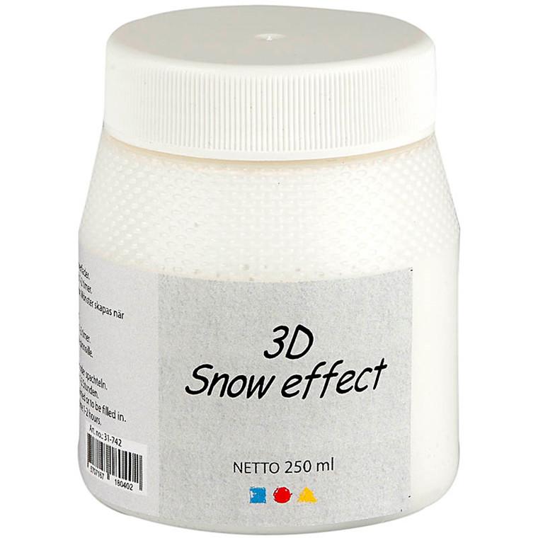 3D Snow effect, hvid, 250ml