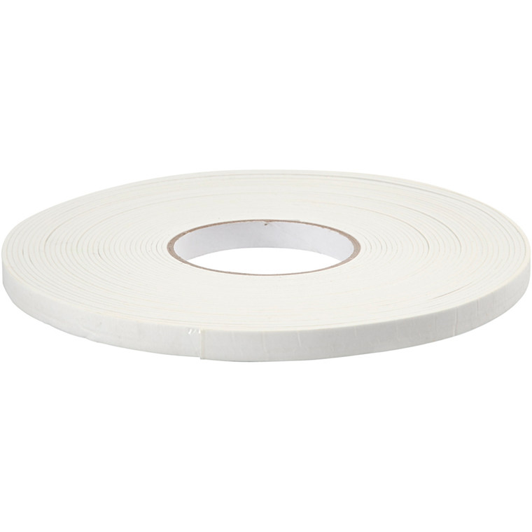 3D tape, B: 12 mm, tykkelse 2 mm, 15m