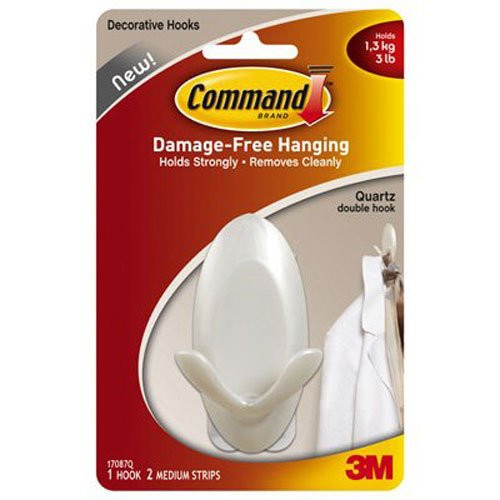 3M Command dobbeltkrog med quartzfinish 17087Q