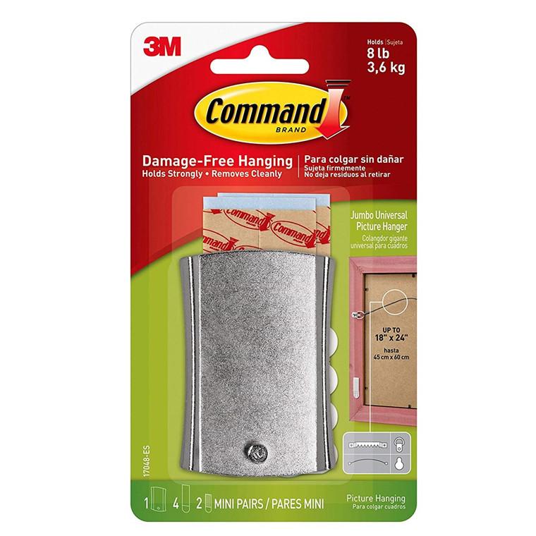 3M Command ekstra stort universal billedophæng, metal, 1 ophæng