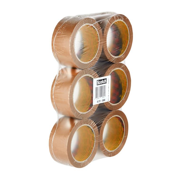3M Emballagetape 371 50mmx66m brun (6)