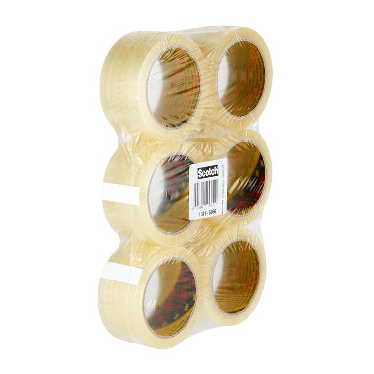 3M Emballagetape 371 50mmx66m klar (6)