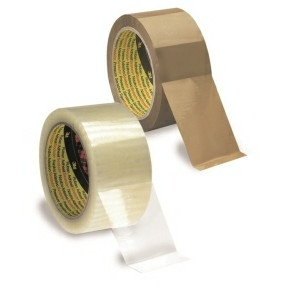 3M Packaging Tape Clear 38mmx66m 37138T