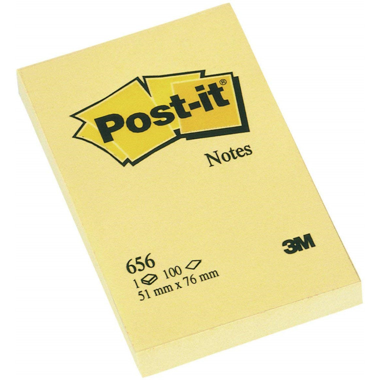 3M Post-it Notes 51x76 gul (12)