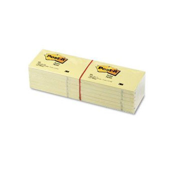 3M Post-it 655 Notes 76x127 yellow (12)