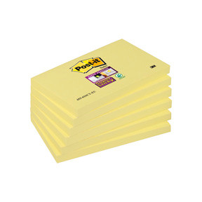 3M 6556SSCY SS Notes 76x127 yellow (6)