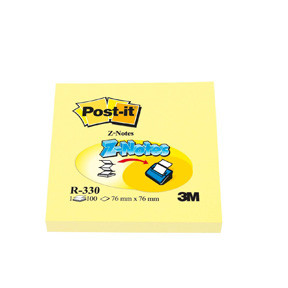 3M Post-it R330 Z-Notes 76x76 yellow (12)