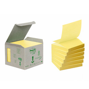 3M Z-Notes 76x76 recycle yellow (6)