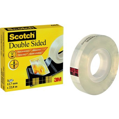 3M Scotch® Dobbeltklæbende tape 12mmx22.8m