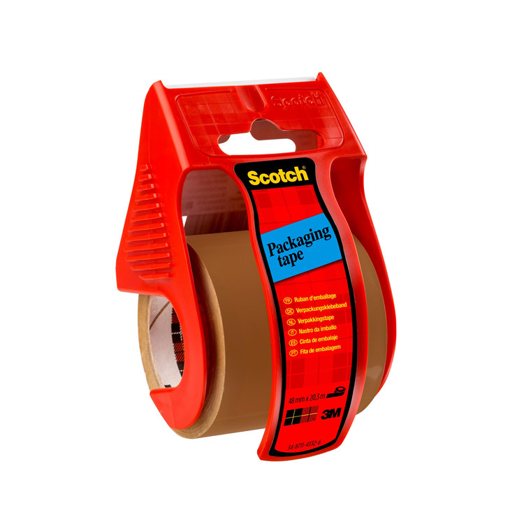 3M Scotch® Easy Start emballagetape brun 48mmx20m