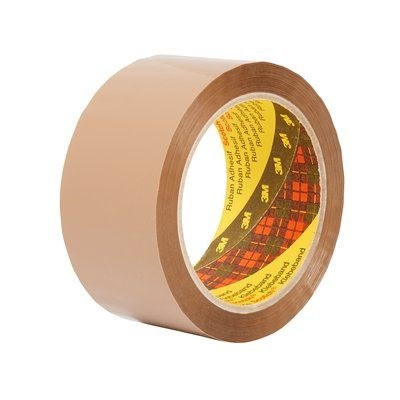 3M Scotch emballagetape 309 brun 50mmx66 m (6)