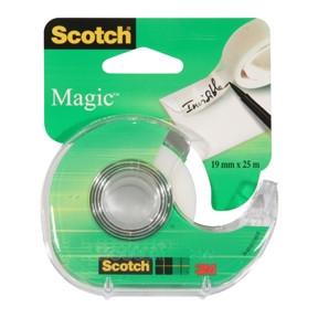 3M Tape dispenser w/Magic 900 tap 19mmx25m