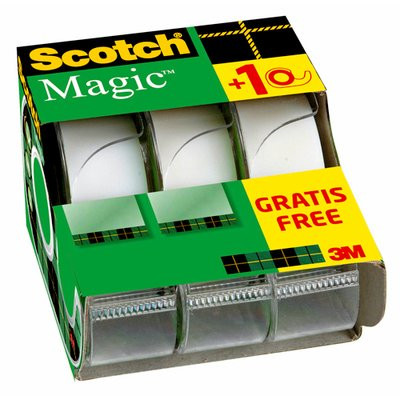 3M Scotch Magic Tape V-Pack (3)