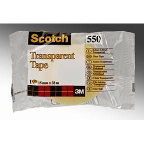 Tape 3M Scotch 550 - 15 mm x 33 m - Transparent