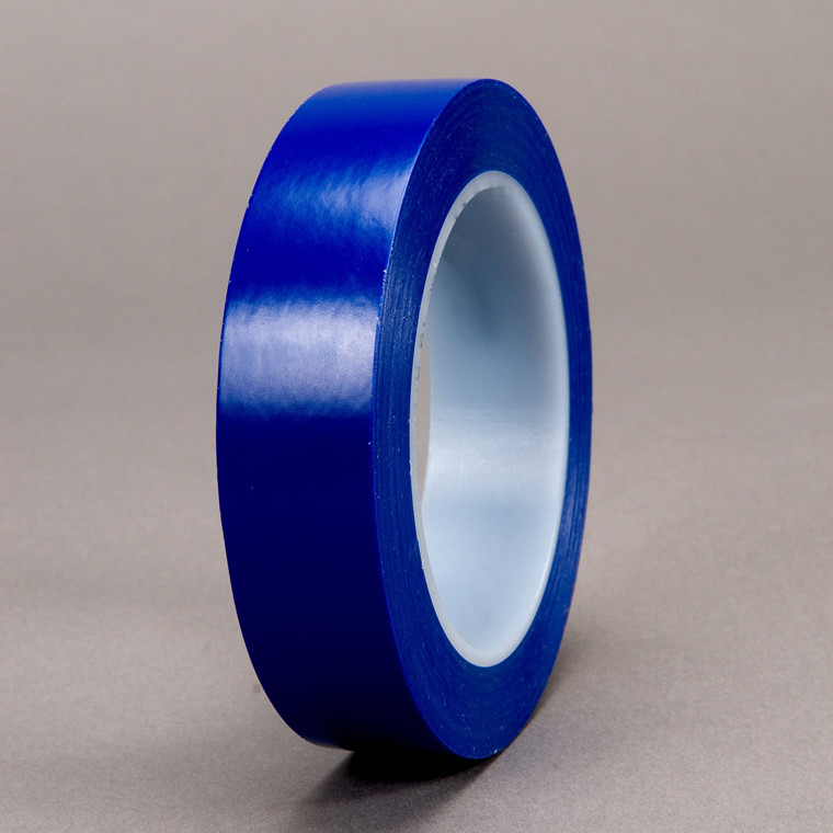 3M Vinyl Tape 471+ Blå 6mmx33m PN6405