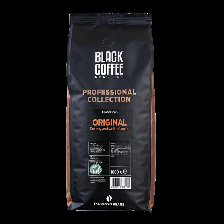 Espresso Black coffee Original - Helbønner