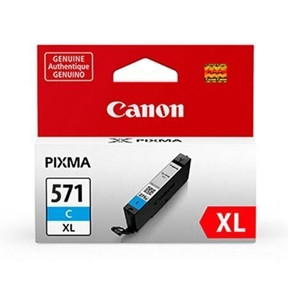 Canon CLI-571XL Cyan ink tank, blistered