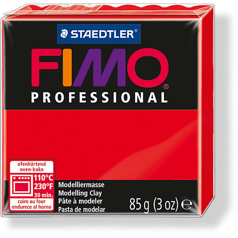 FIMO® Professional rød - 85 gram