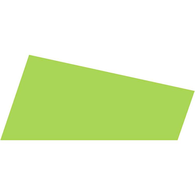 Mosgummi A4 21 x 30 cm tykkelse 2 mm lys grøn - 10 ark